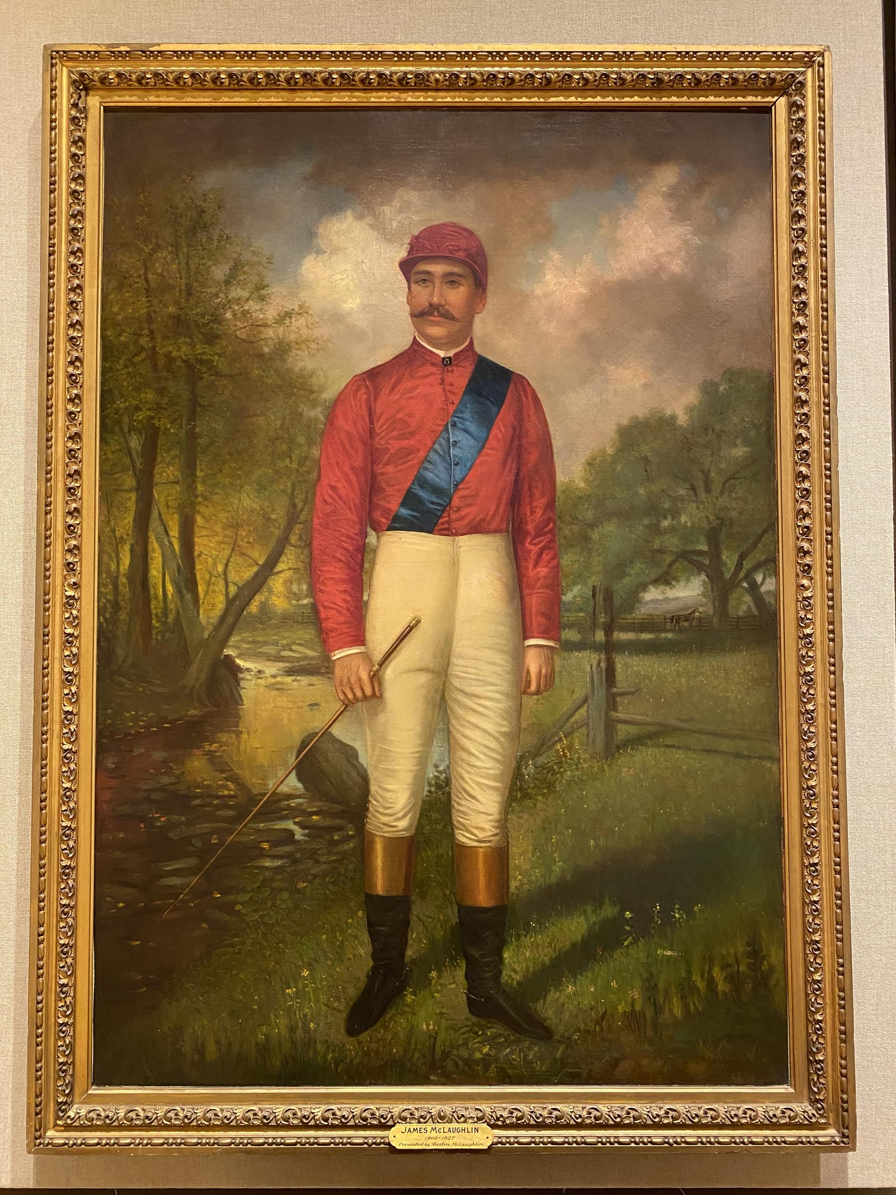1956.6.1: James McLaughlin by C. C. Markham (1837-1907), Oil on canvas, 1887, Gift: Austin McLaughlin