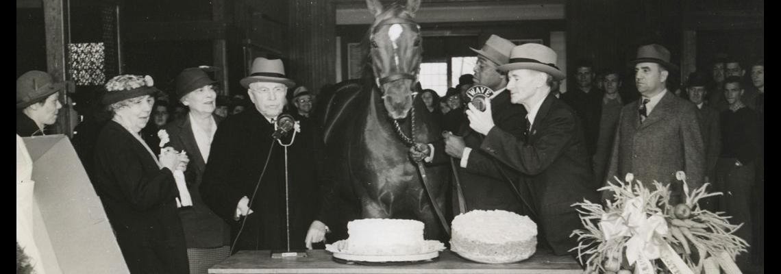 Man o' War's birthday party.  Credit: TurfPix