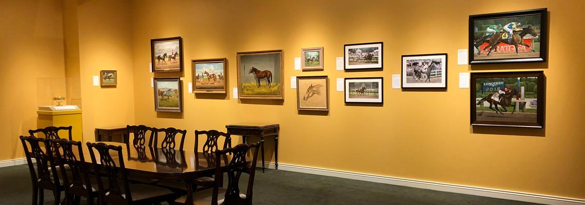 Midsummer Derby: 150 Years of the Travers, exhibit, National Museum of Racing