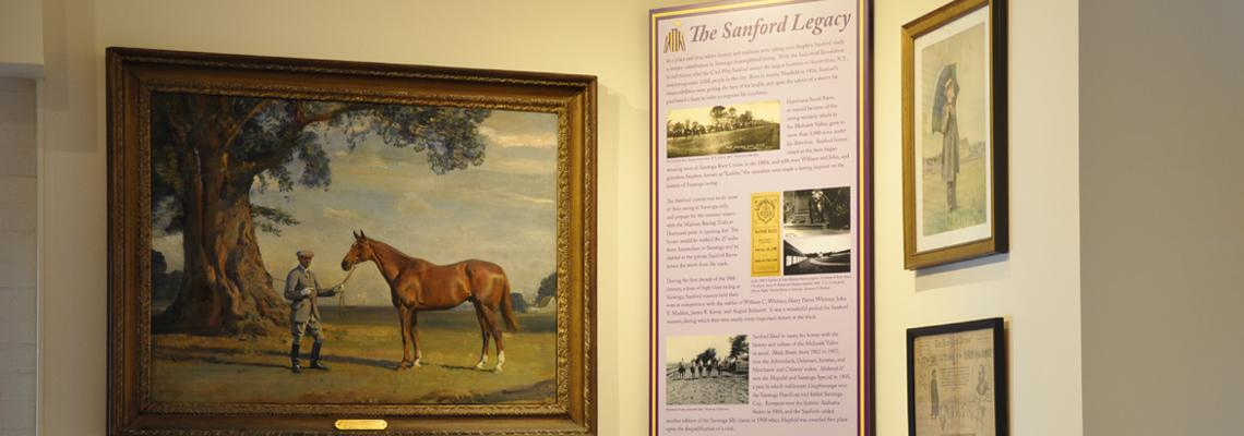 Sanford Legacy exhibit