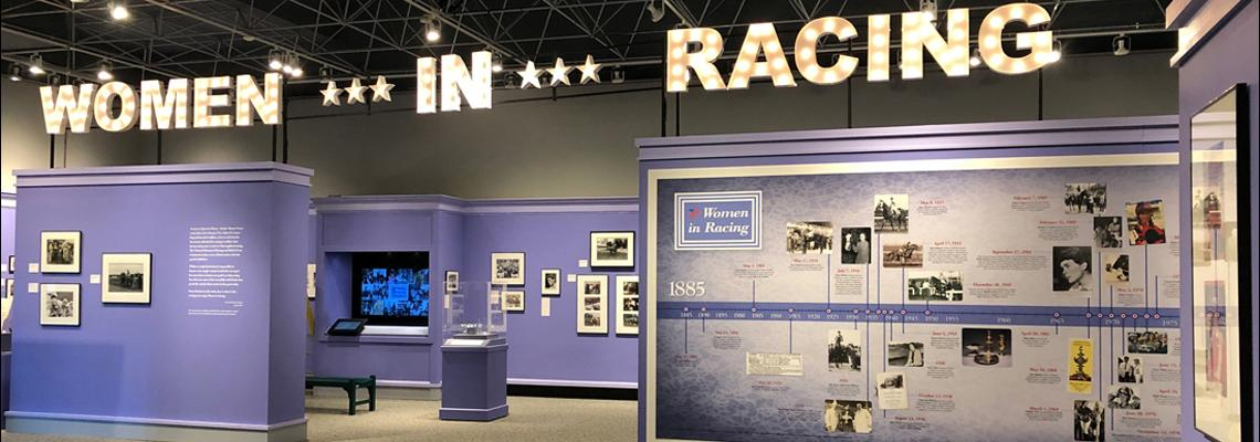Women in Racing, NMR exhibition, 2019
