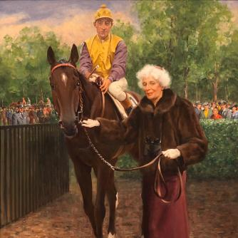 Gladys Mills Phipps and Bold Ruler (Arcaro up), Women in Racing