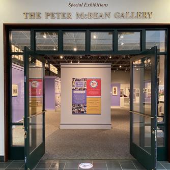 Entrance to McBean Gallery