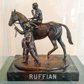 Ruffian bronze by Eleanor Iselin Wade, Sculpture Gallery (Bob Mayberger)