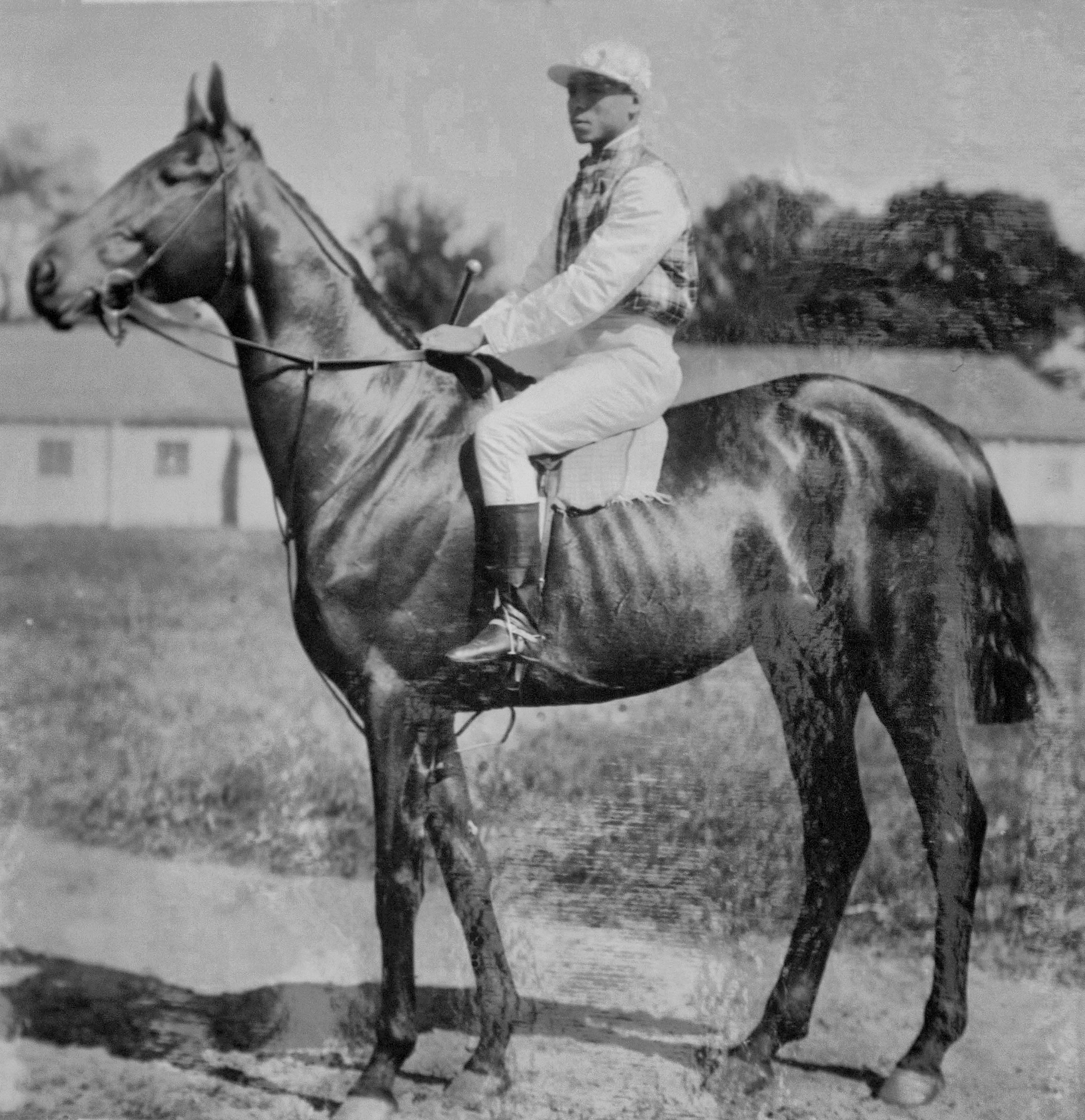 Clifford with Willie Simms up (Keeneland Library Hemment Collection)