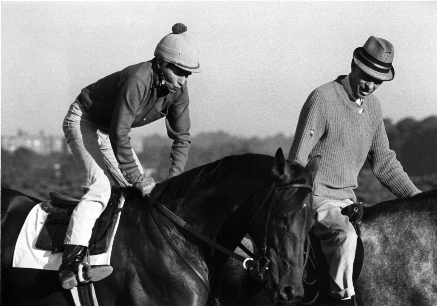 Damascus with exercise rider Willie Davis (Museum Collection)