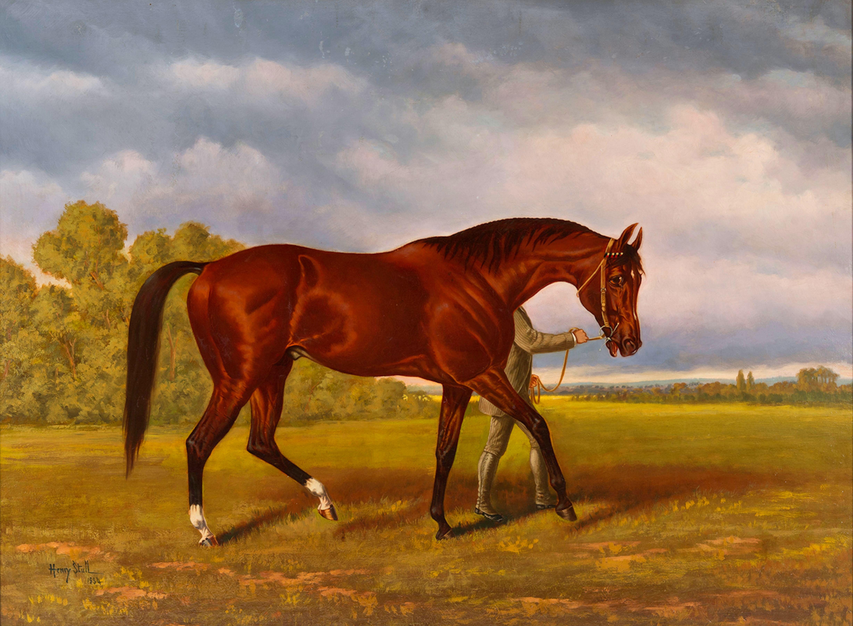 Painting of Duke of Magenta by Henry Stull