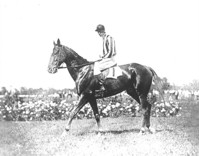Fairmount with J. Dallett Byers up (Keeneland Library Cook Collection/Museum Collection)