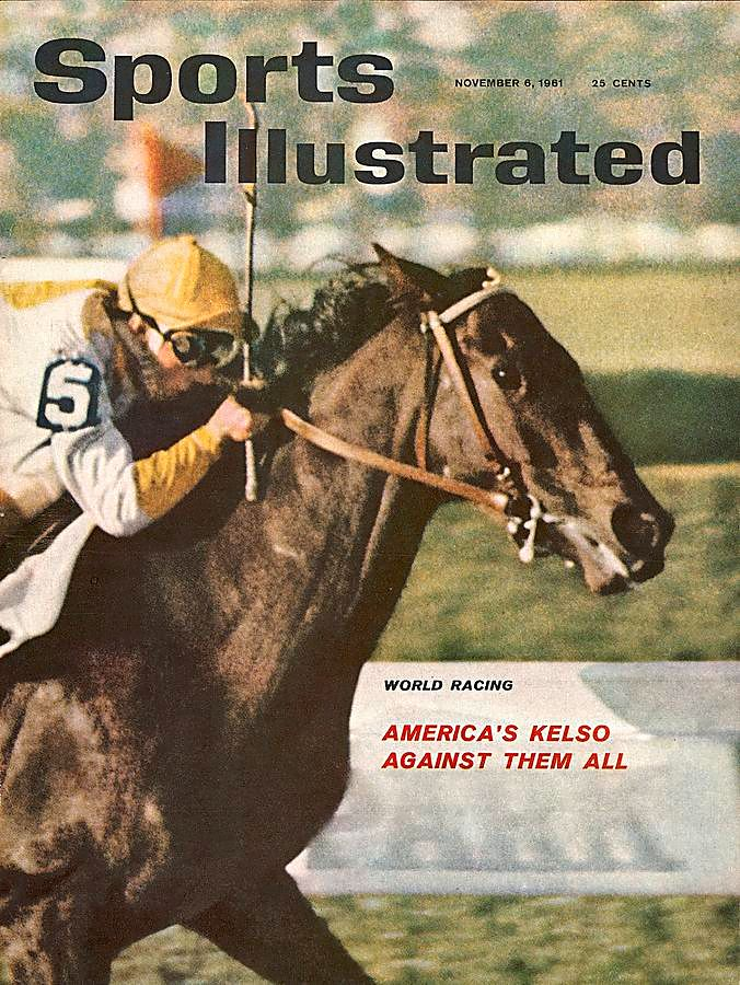 "Kelso on the cover of ""Sports Illustrated"" in 1961 (Sports Illustrated)"
