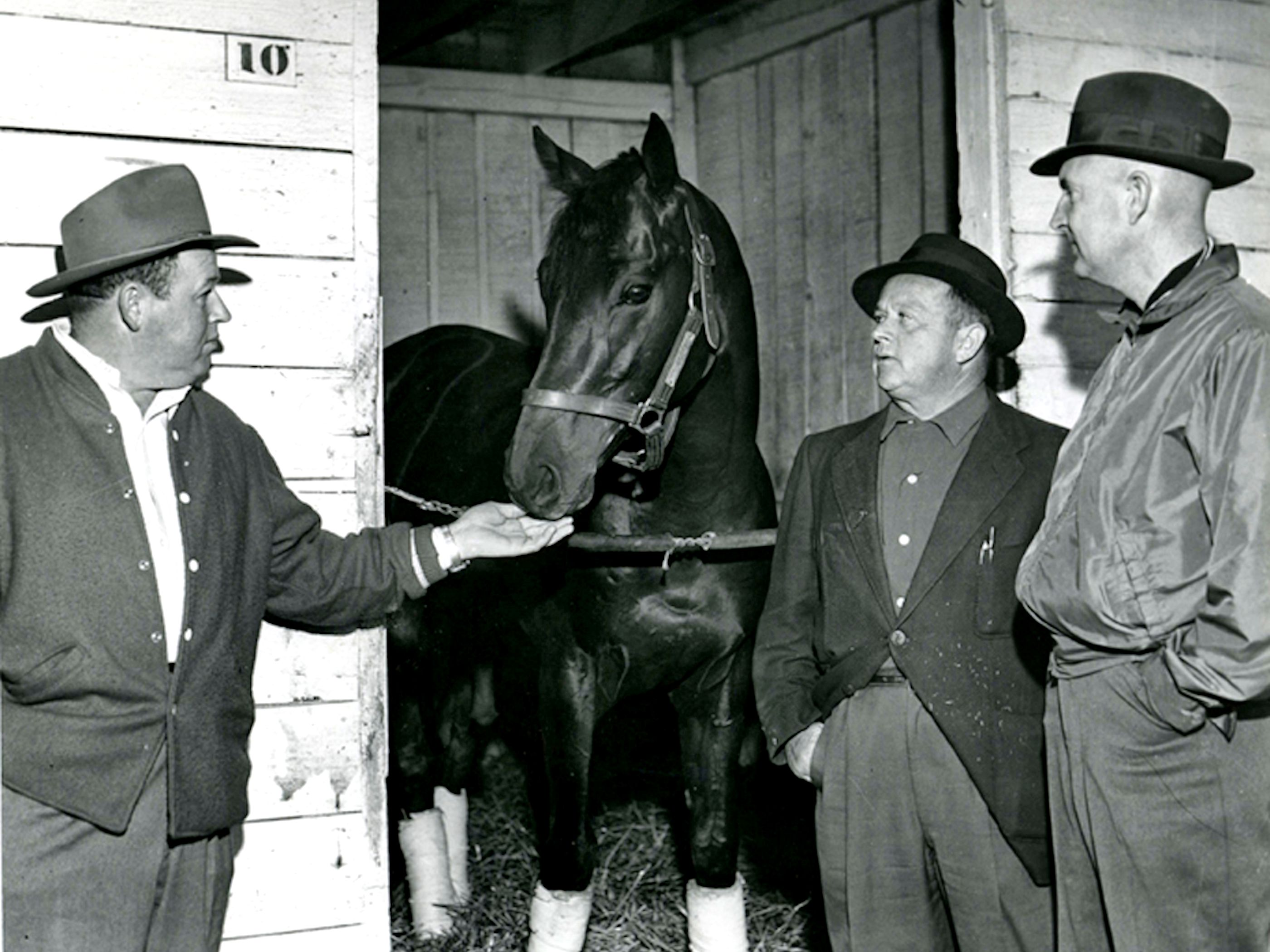 "Tim Tam with Horace A. ""Jimmy"" Jones (Museum Collection)"