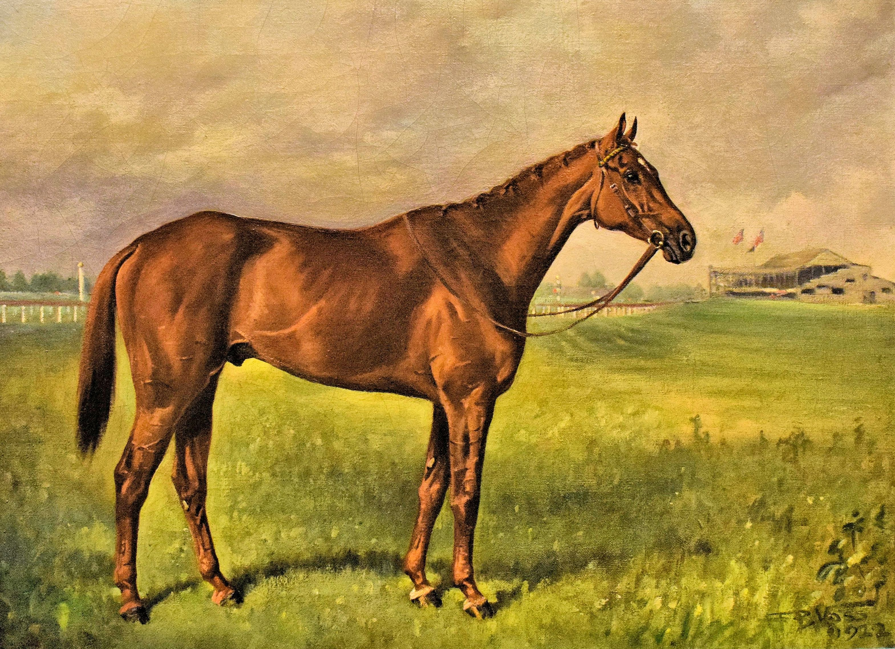 Painting of Exterminator by Franklin Voss (Museum Collection)