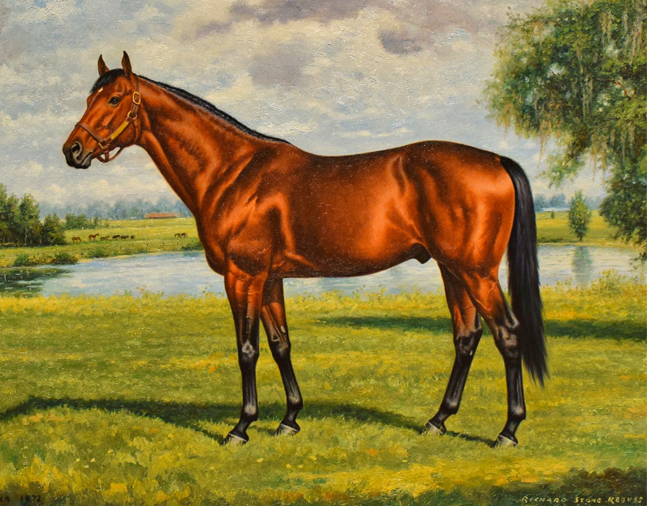 Portrait of Dr. Fager by Richard Stone Reeves, 1972 (Museum Collection)