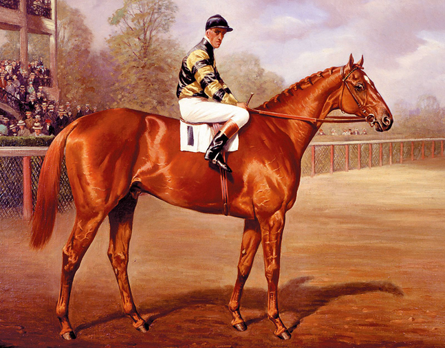 Man o' War as a 2-year-old, by Franklin Brooke Voss, 1919 (Museum Collection)
