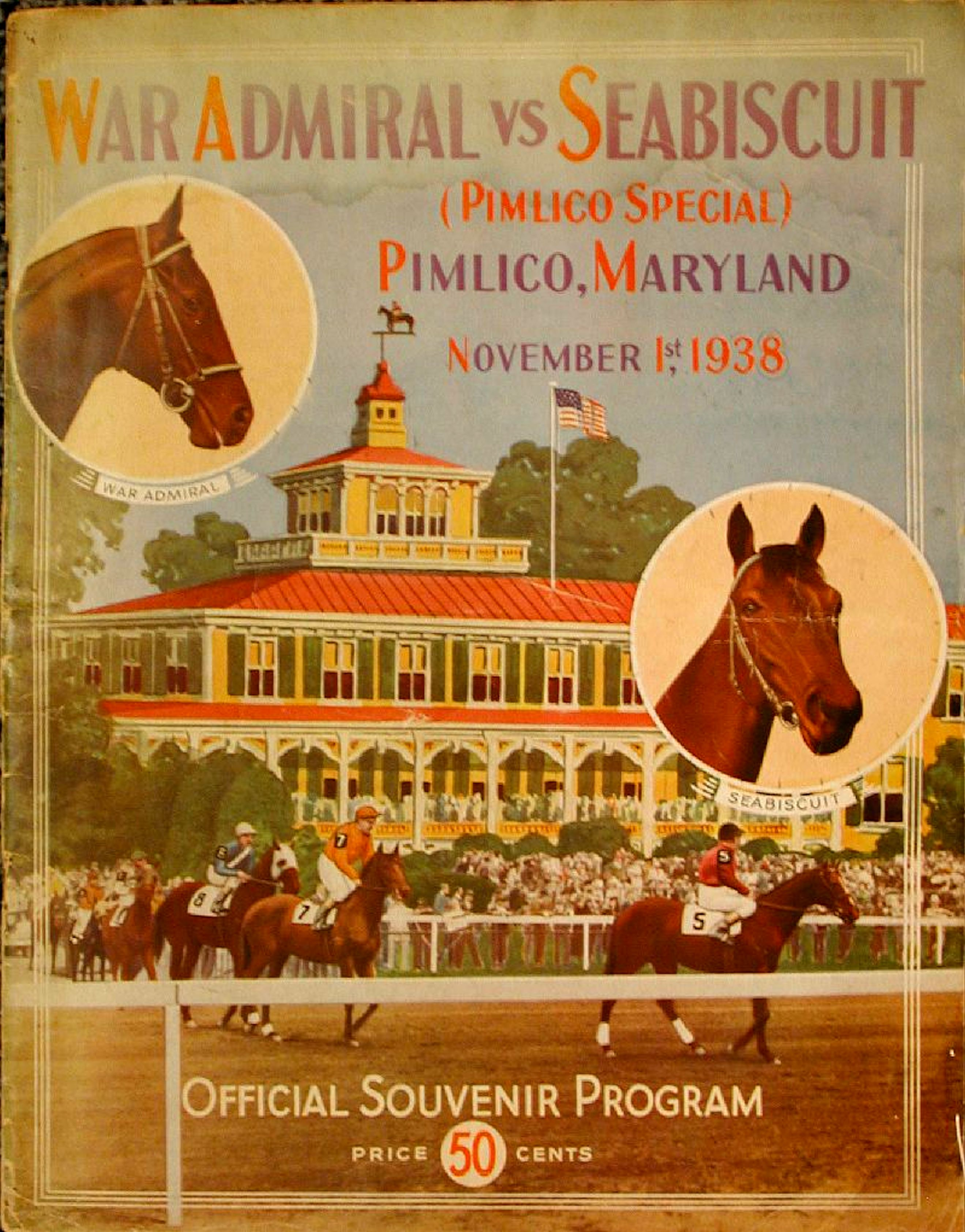 1938 Pimlico Special program (Museum Collection)