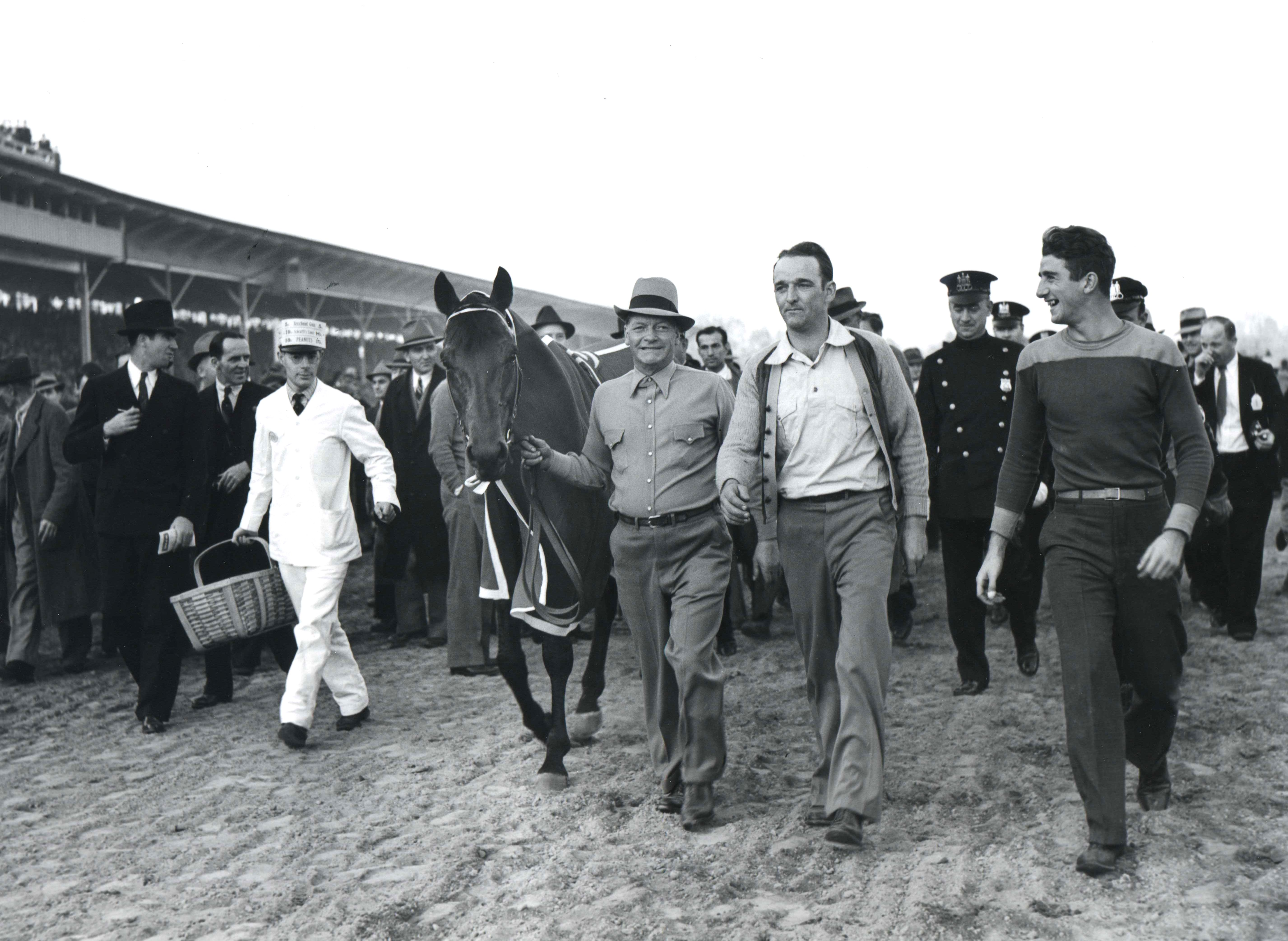 Seabiscuit (Keeneland Library Morgan Collection)
