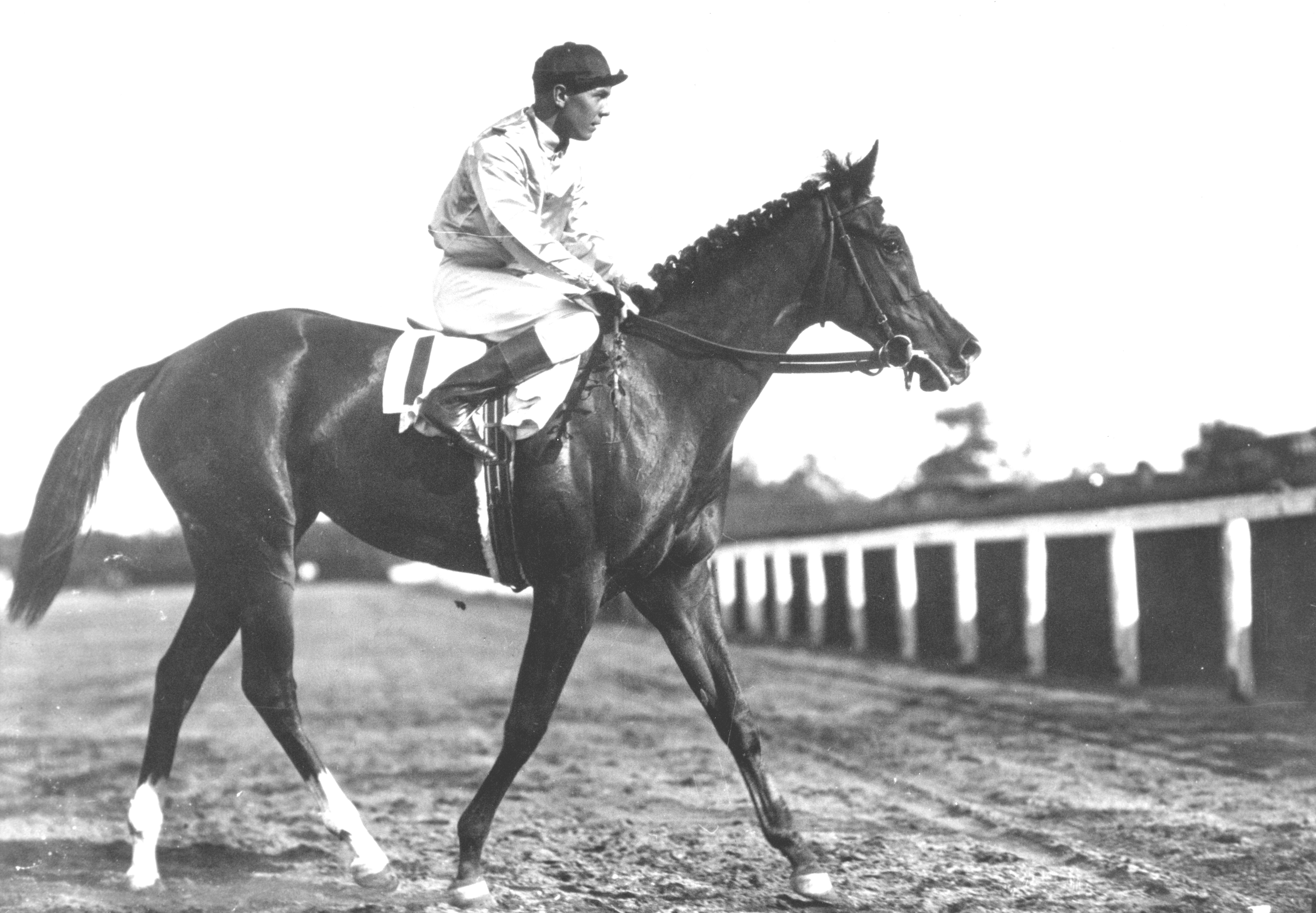 Top Flight with Raymond Workman up (Keeneland Library Cook Collection/Museum Collection)