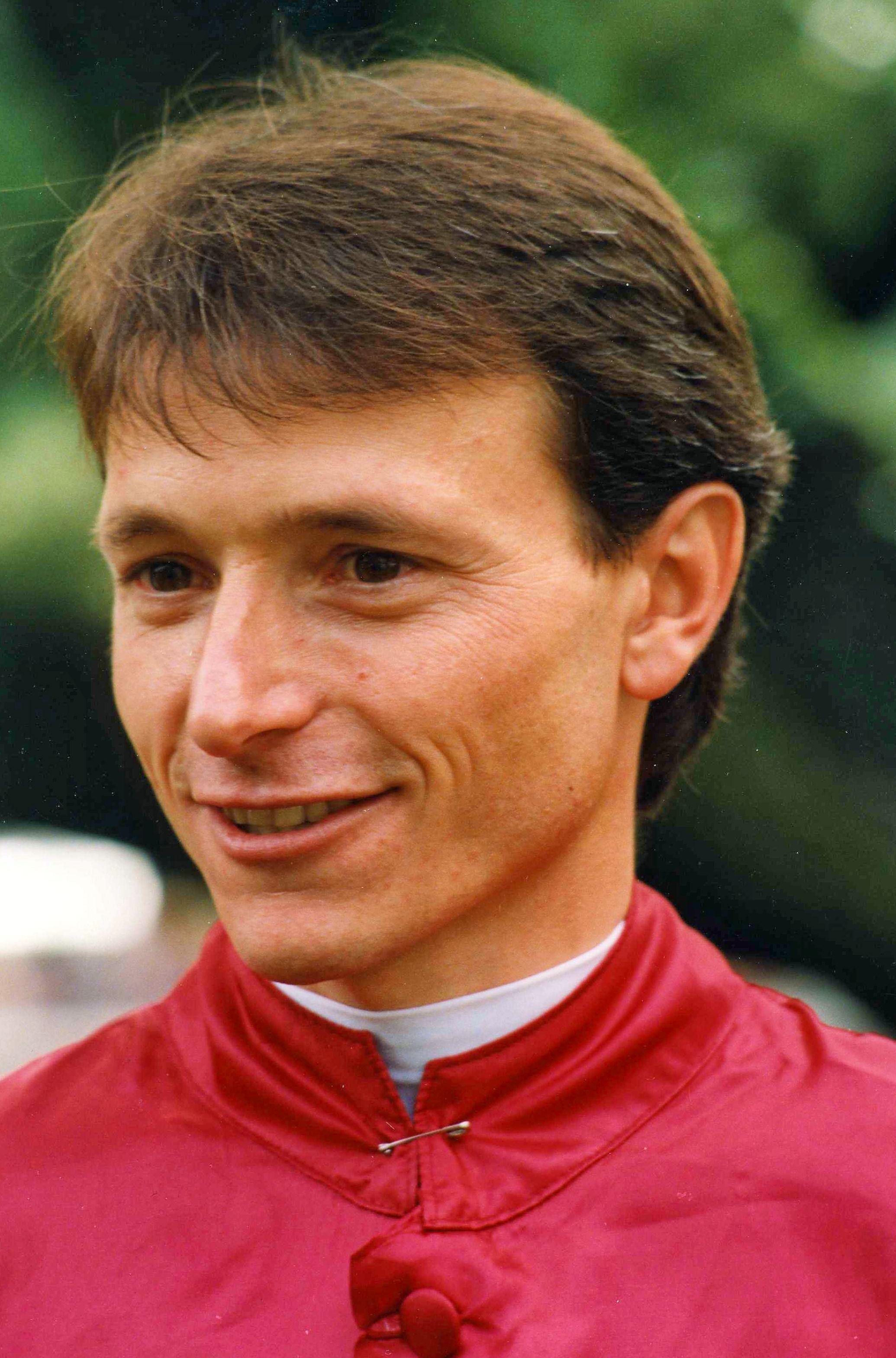 Steve Cauthen at Belmont Park, 1992 (Barbara D. Livingston/Museum Collection)