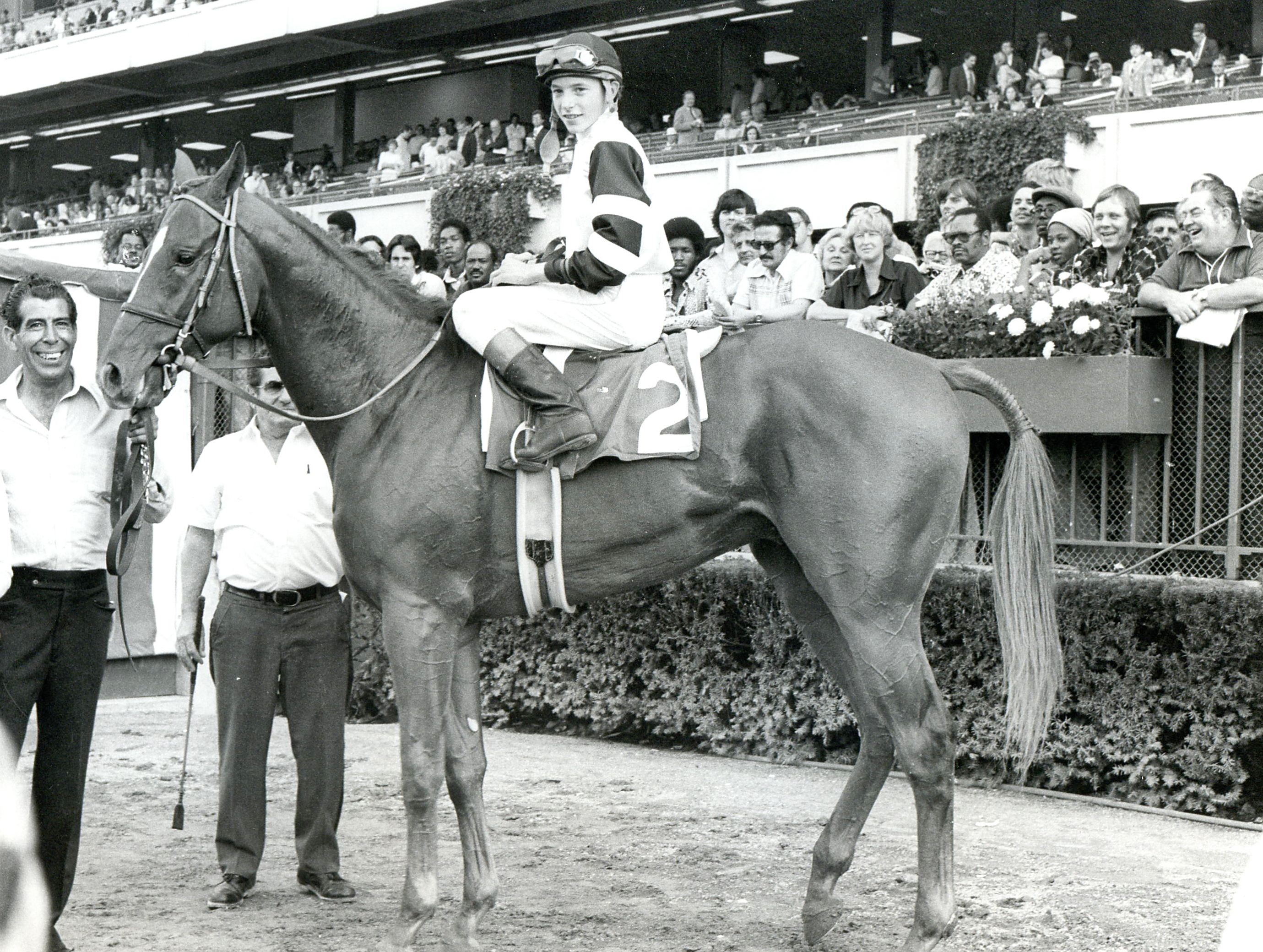 Steve Cauthen and Affirmed (Museum Collection)