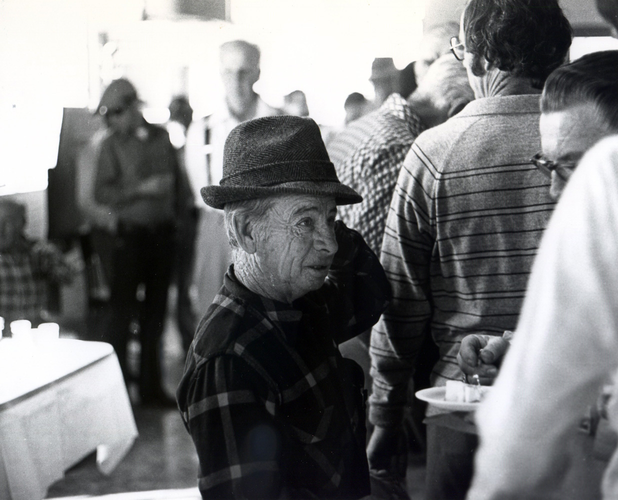 Johnny Longden at Santa Anita Park in his second career as a trainer (Bill Mochon/Museum Collection)