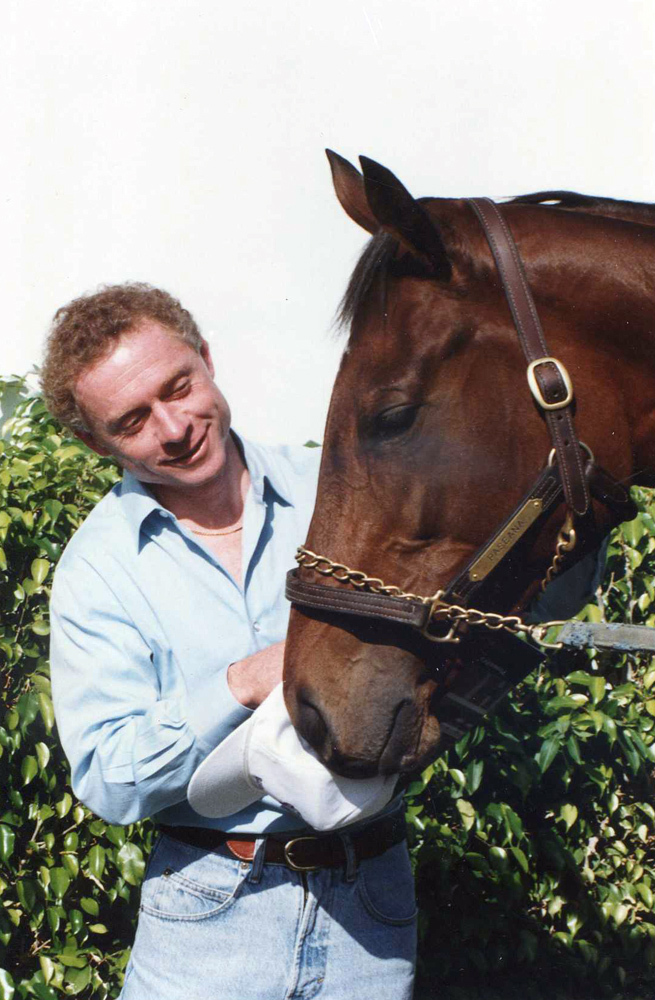 Chris McCarron and Paseana at Gulfstream Park, October 1992 (Barbara D. Livingston/Museum Collection)