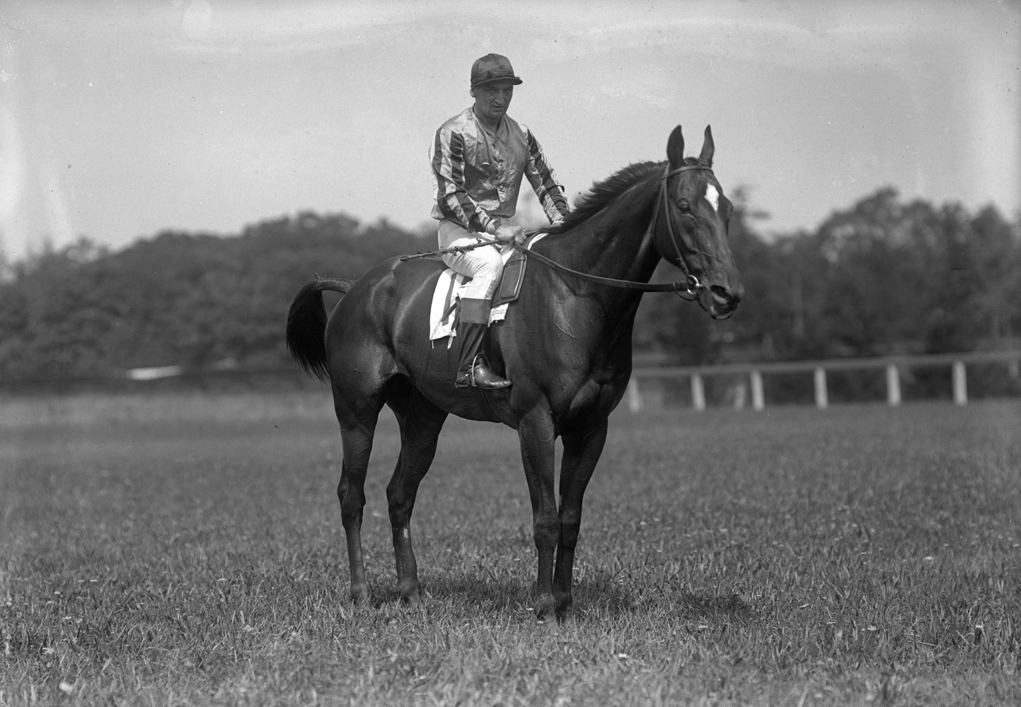 Vincent Powers and Syosset (Keeneland Library Cook Collection)