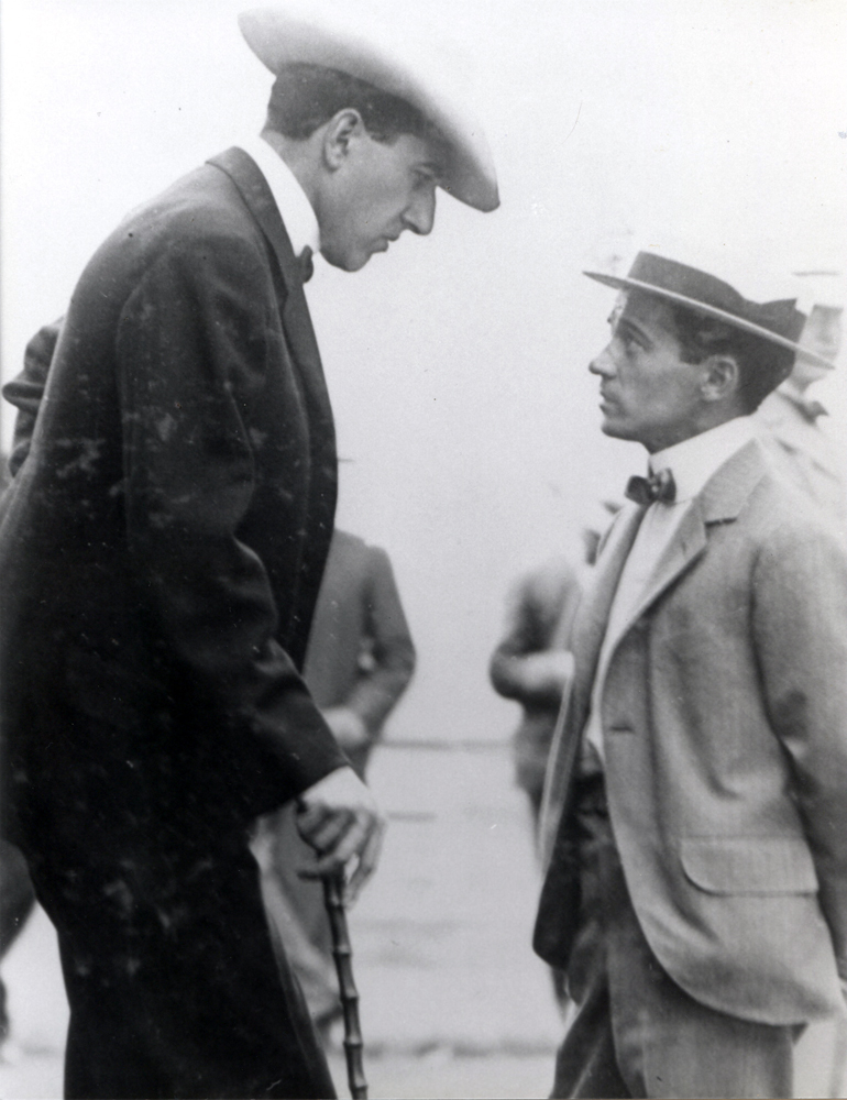 Tod Sloan and Jesse Lewisohn in 1904 (Museum Collection)