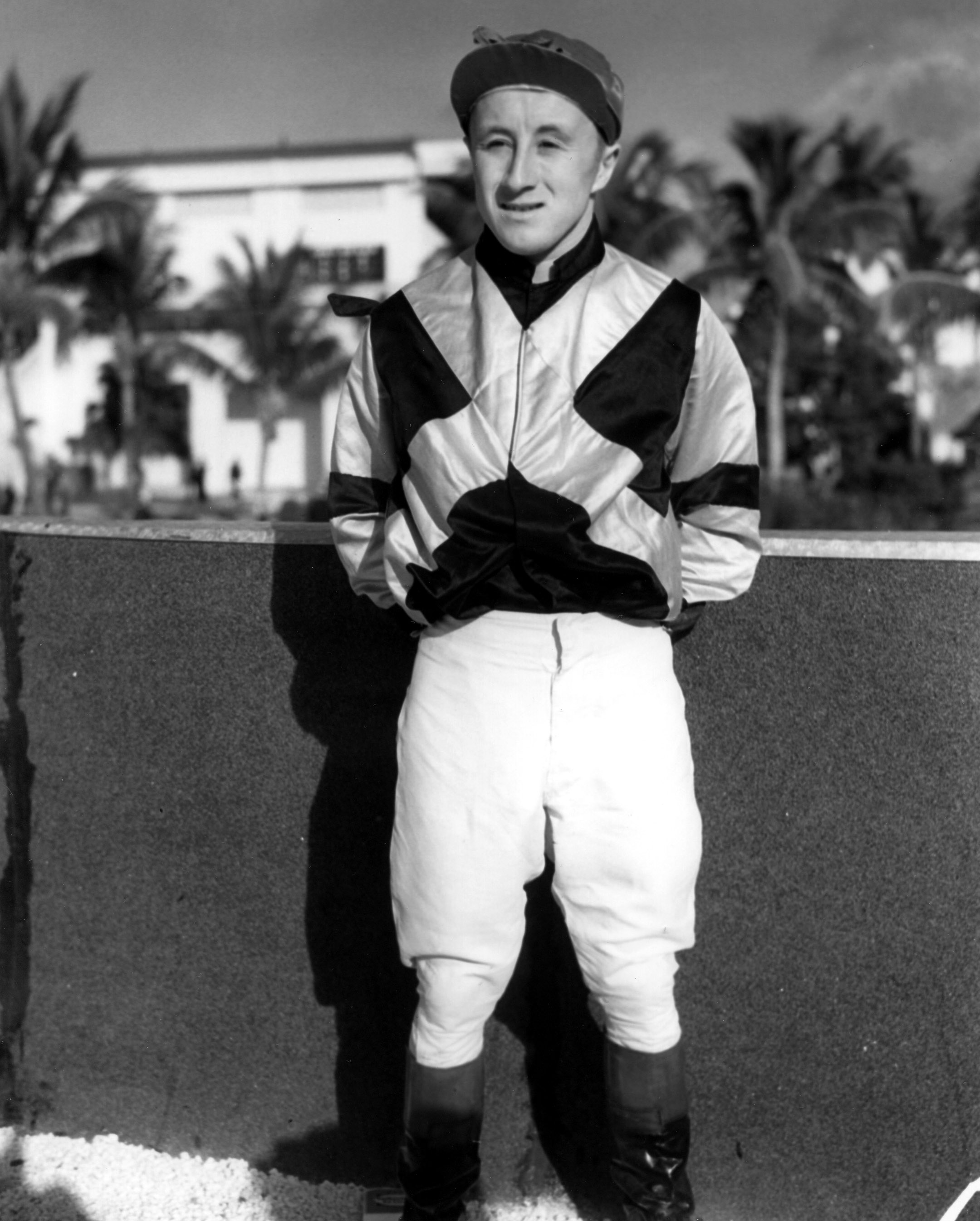 James Stout at Tropical Park (Keeneland Library Morgan Collection/Museum Collection)