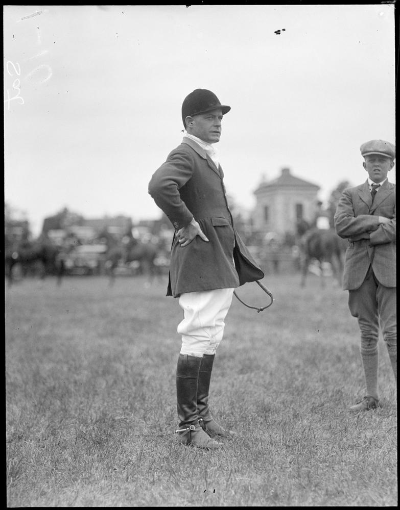 Bayard Tuckerman, Jr. (Courtesy of the Boston Public Library, Leslie Jones Collection)