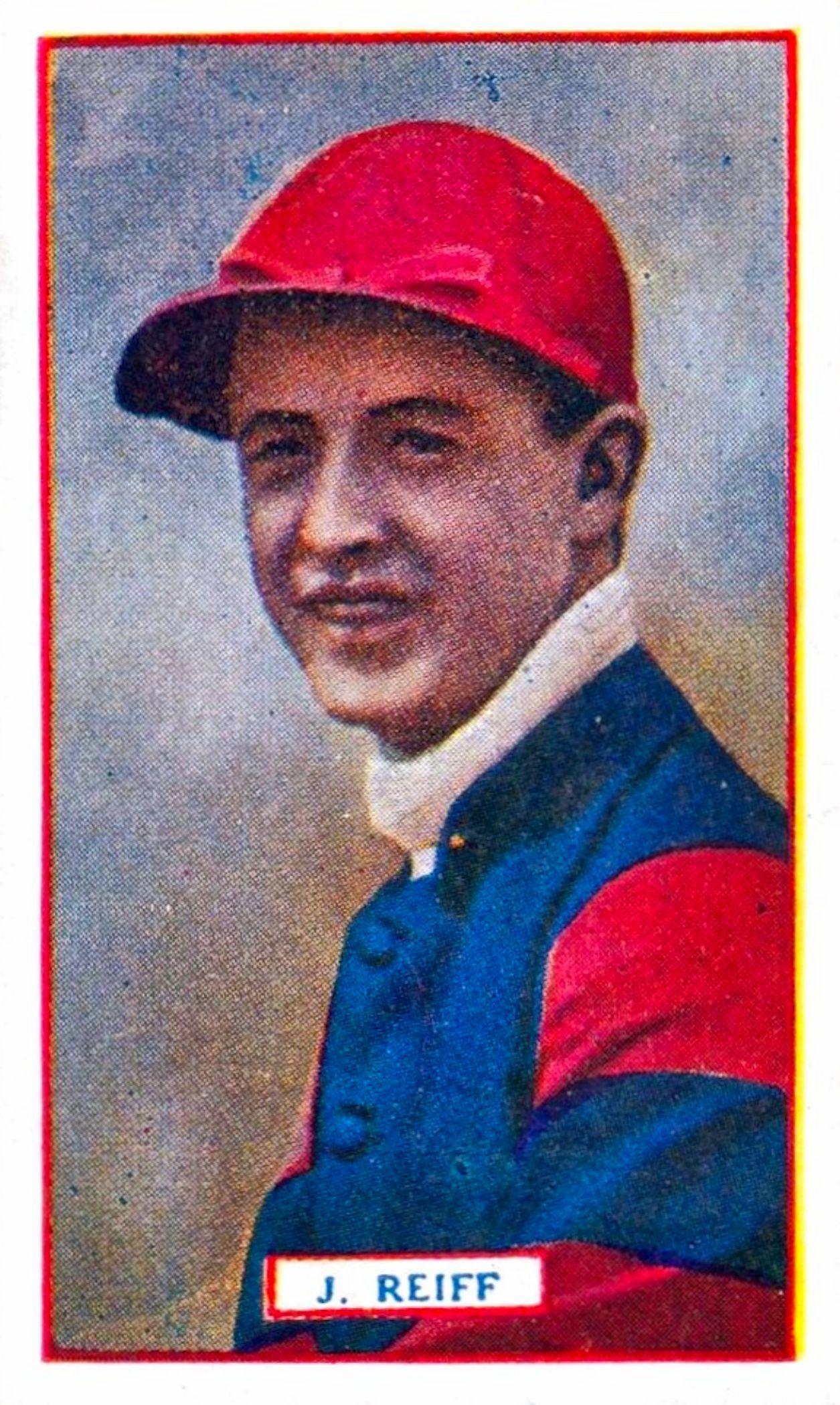John Reiff, Godfrey Phillips jockey card