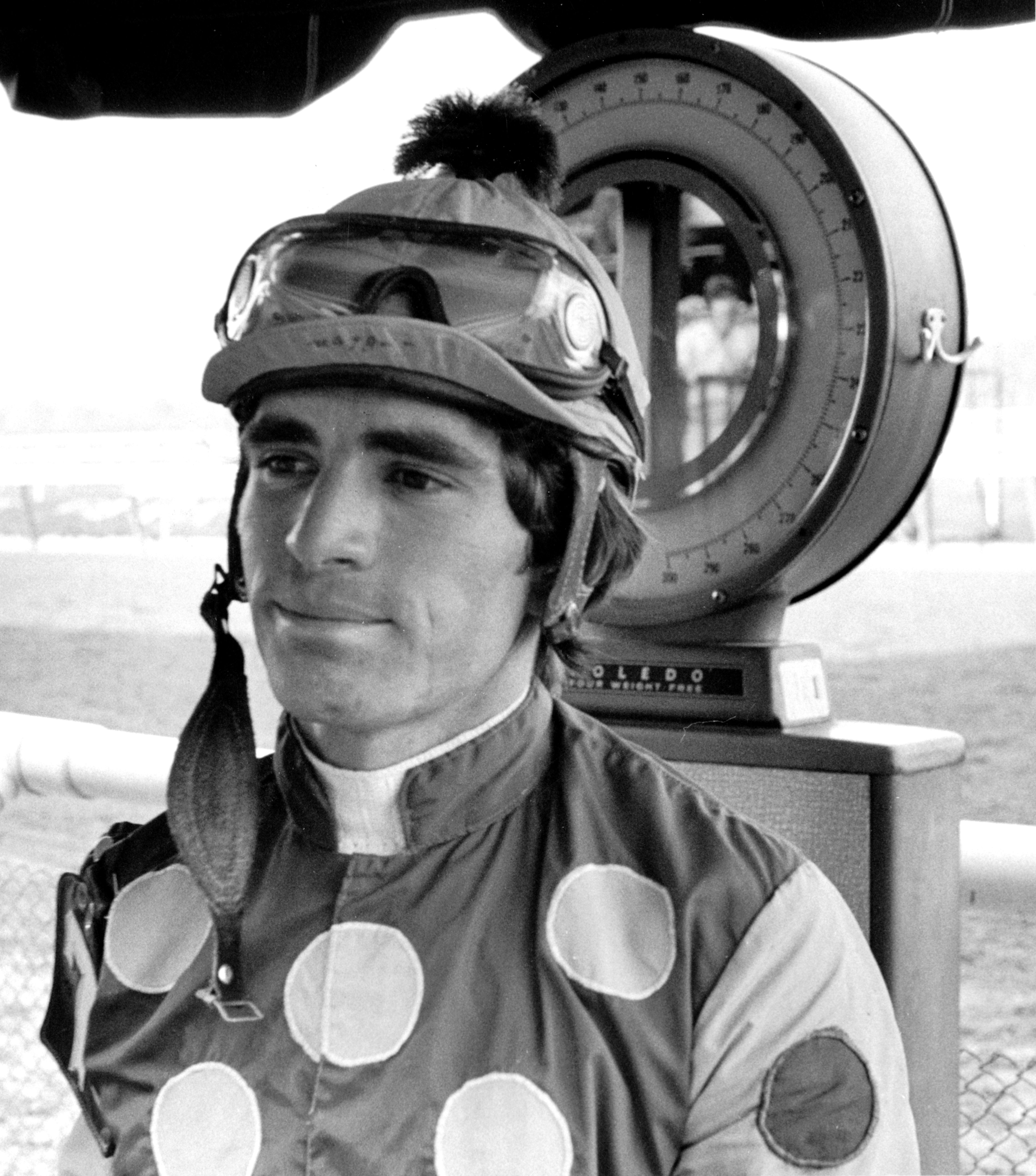 Darrel McHargue at Belmont Park, 1978 (Keeneland Library Thoroughbred Times Collection)
