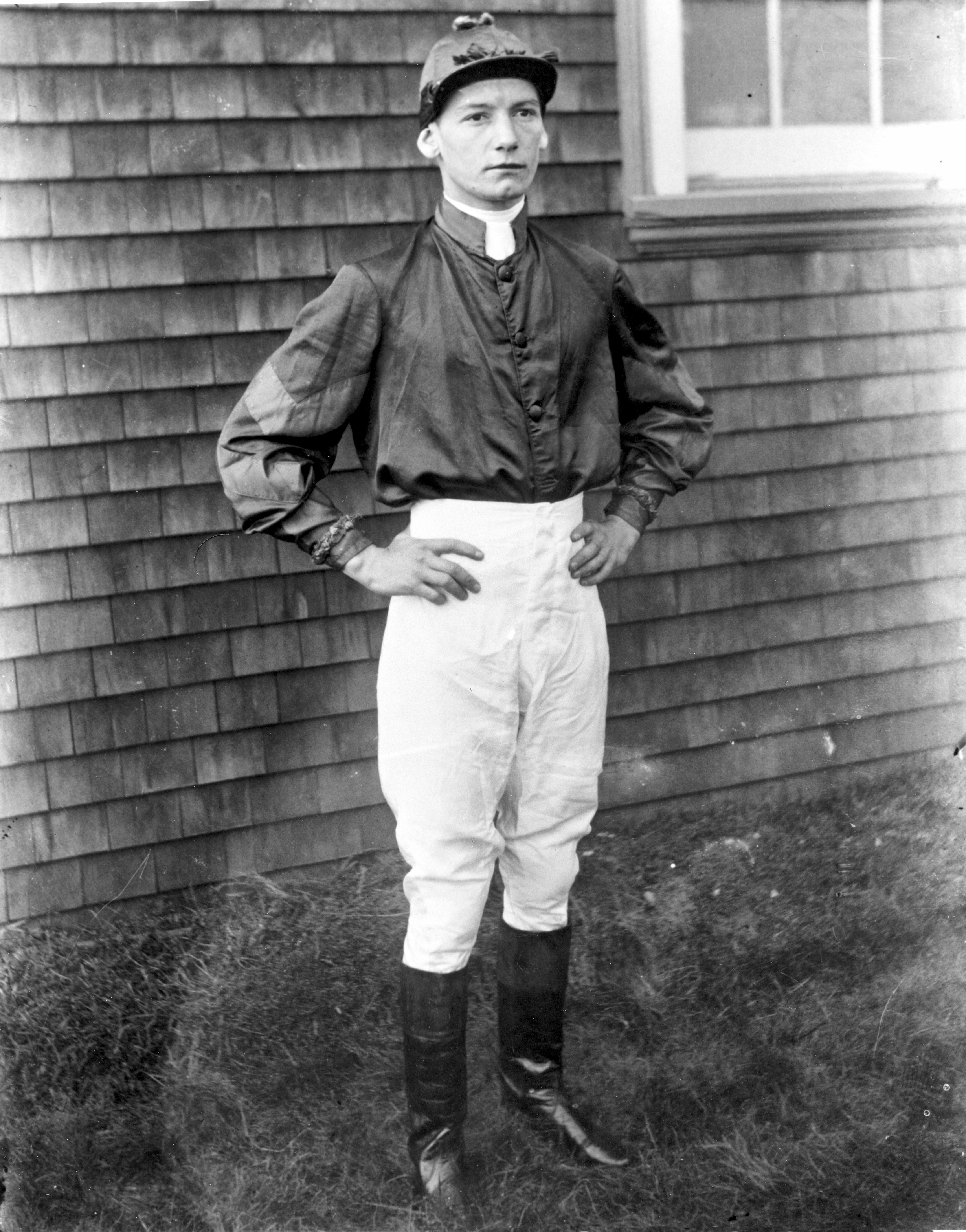 """Lavelle """"Buddy"""" Ensor (Keeneland Library Cook Collection/Museum Collection)"""