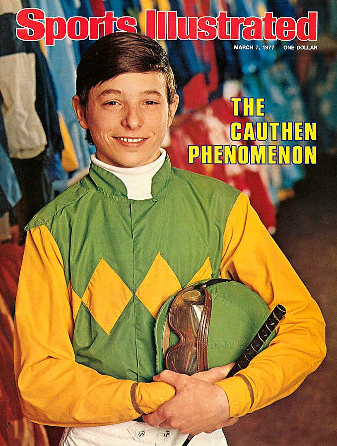 """Steve Cauthen on the cover of """"Sports Illustrated"""" in 1977 (Sports Illustrated)"""