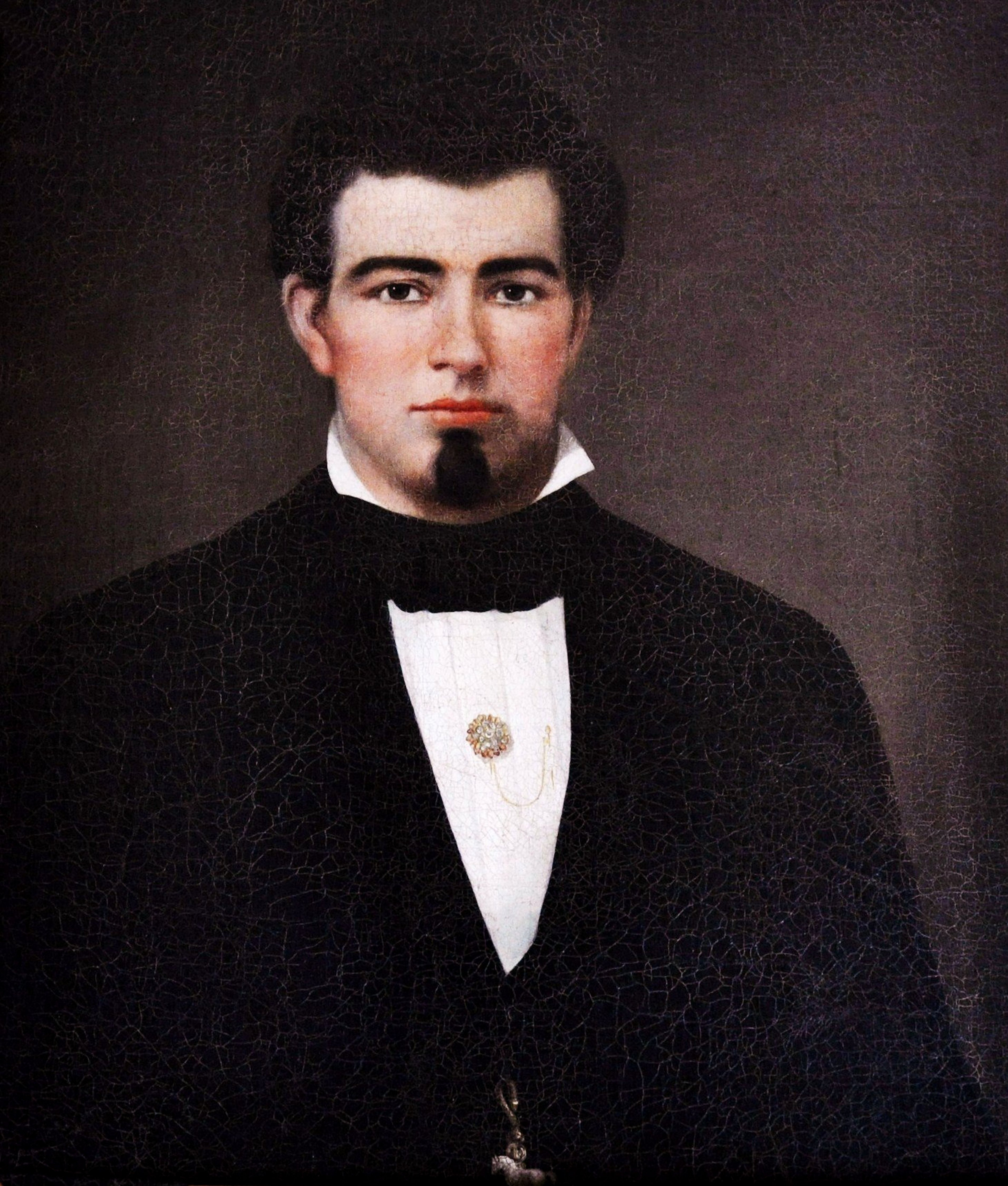 Portrait of John Morrissey on exhibit at his Canfield Casino in Saratoga Springs, N.Y (Saratoga Springs History Museum)