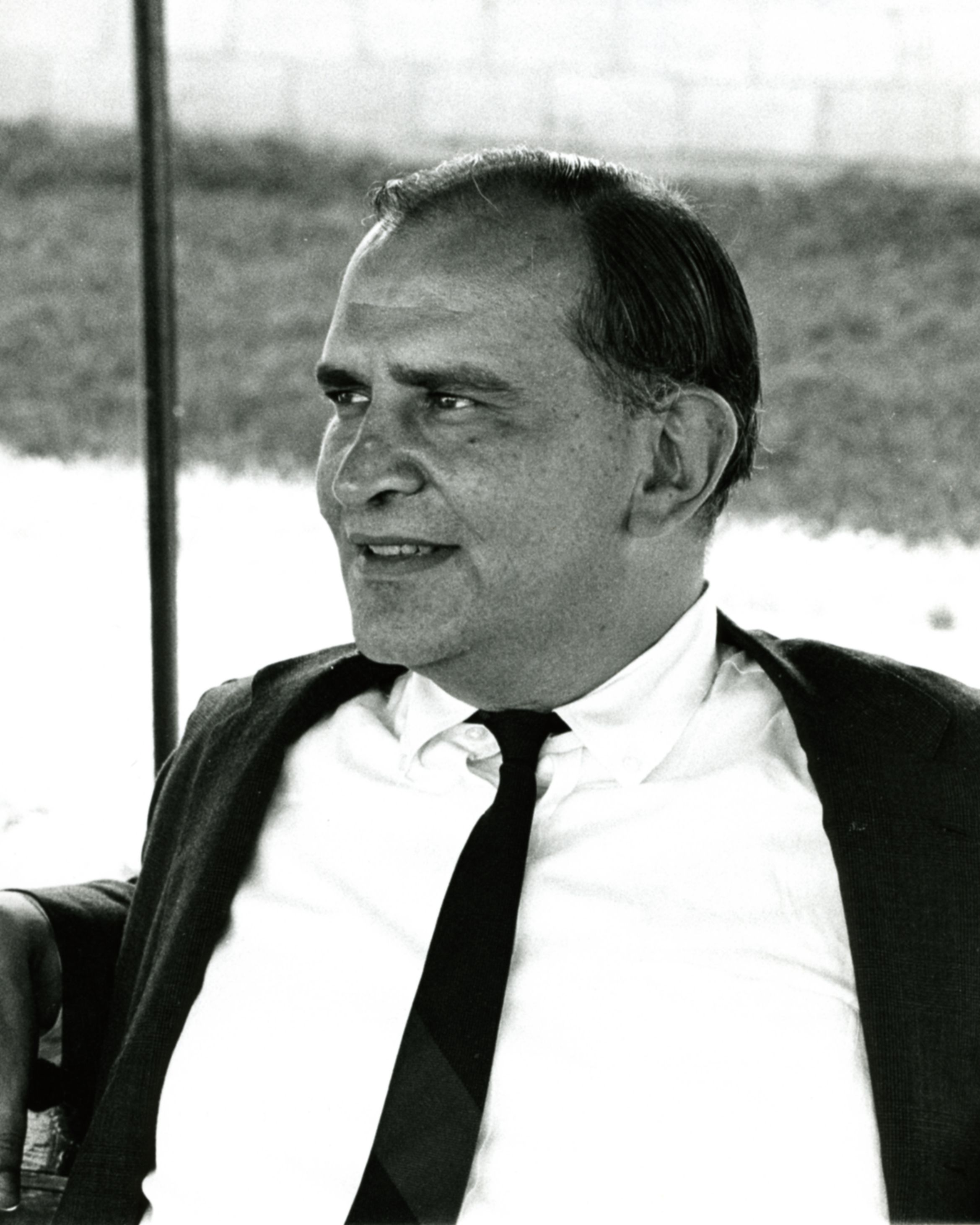 John R. Gaines in 1968 (Keeneland Library Thoroughbred Times Collection)