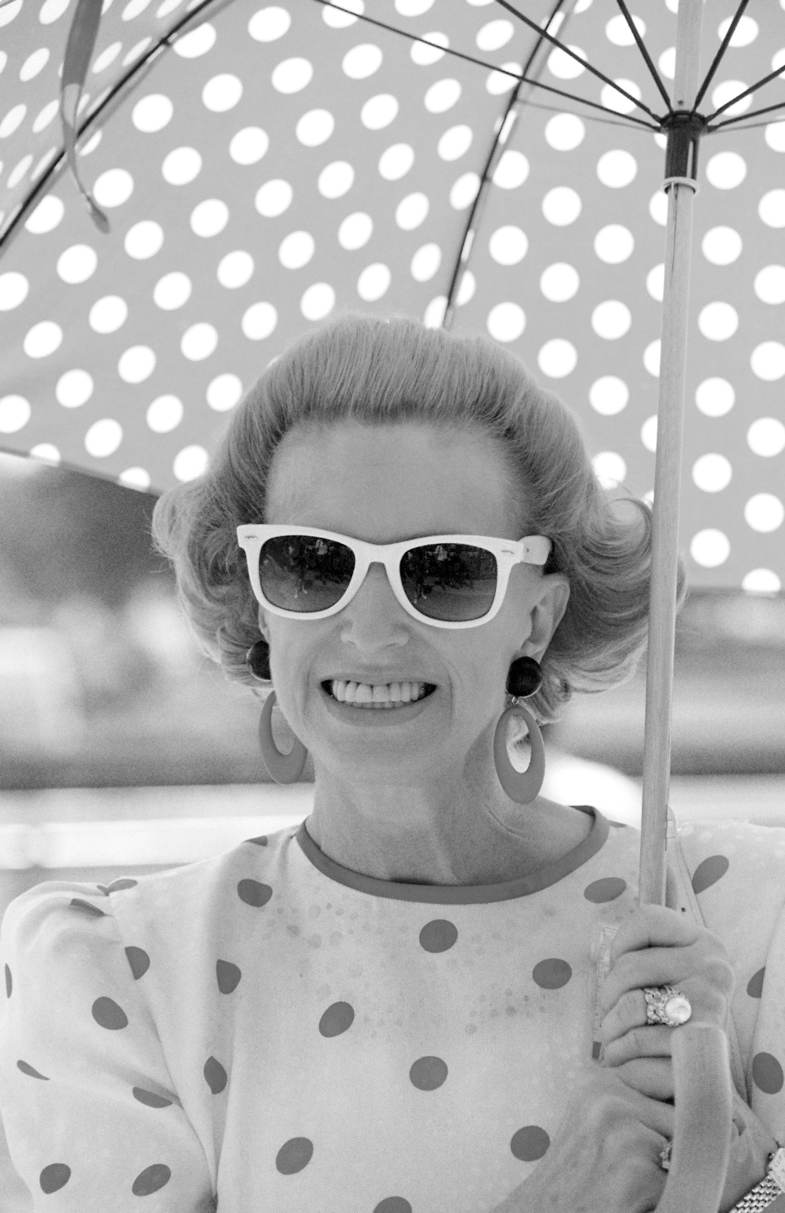 Marylou Whitney at Saratoga, 1990 (Barbara D. Livingston)