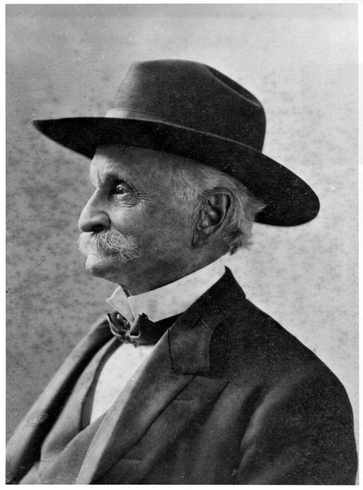 """Elias J. """"Lucky"""" Baldwin (Keeneland Library Collection)"""