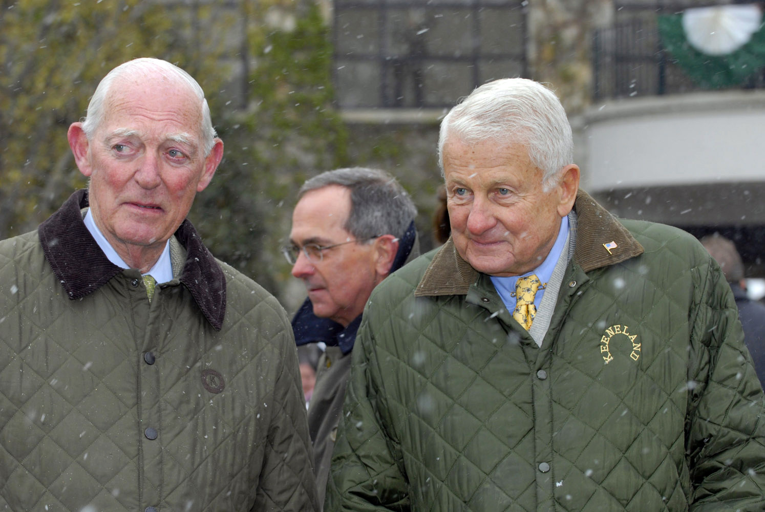 Ted Bassett and Alex Campbell (Keeneland Association)