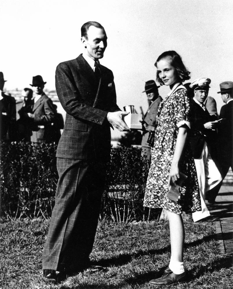 Alice Headley, Spring 1937 (Keeneland Association)