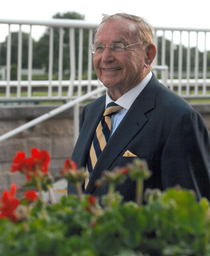 Dick Duchossois at Arlington Park (Arlington Park Photo)