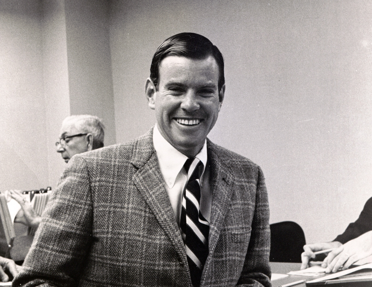 William S. Farish III in 1970 (Keeneland Library Thoroughbred Times Collection)