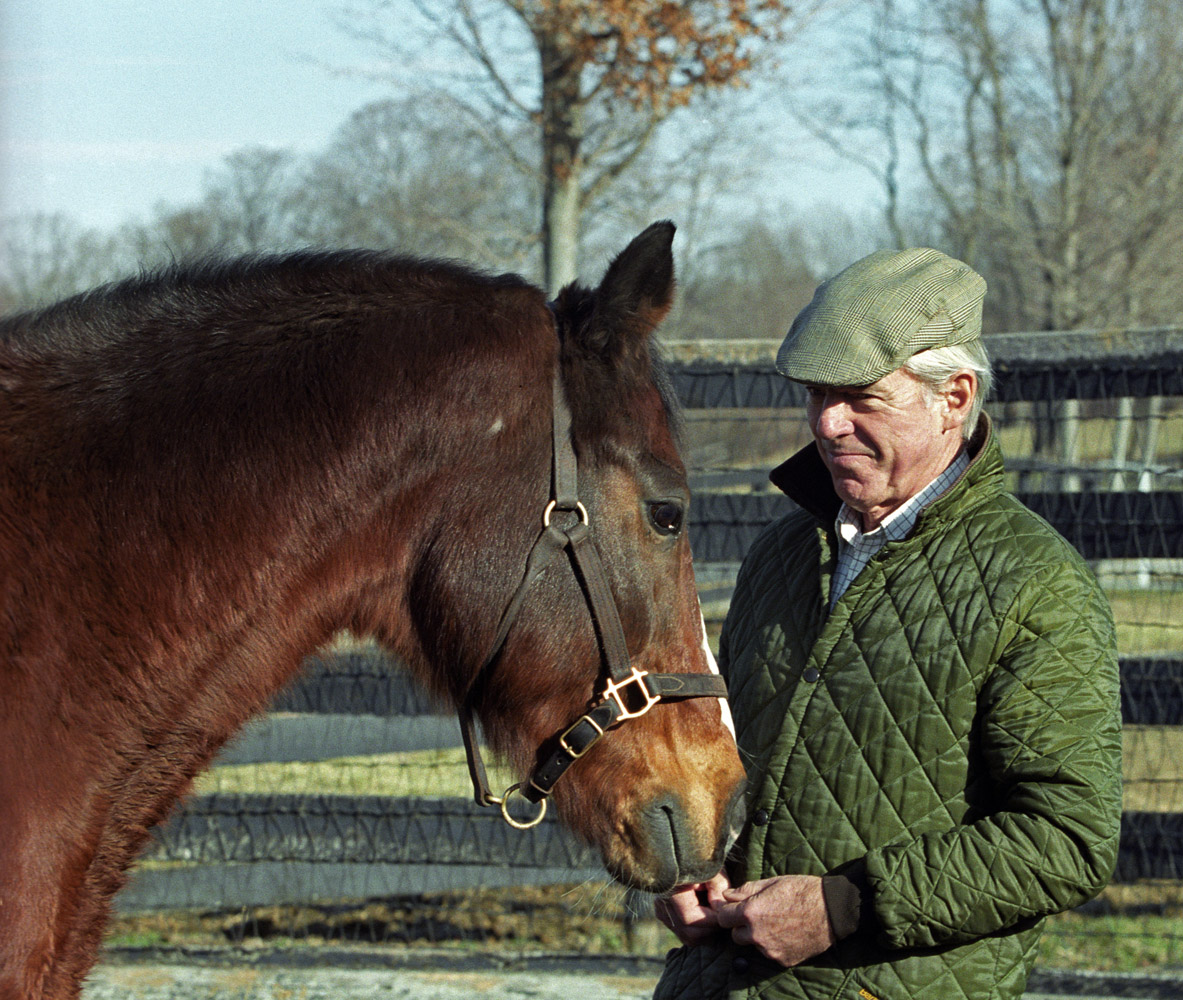 John Hettinger at Akindale Farm, 2001 (Barbara D. Livingston)