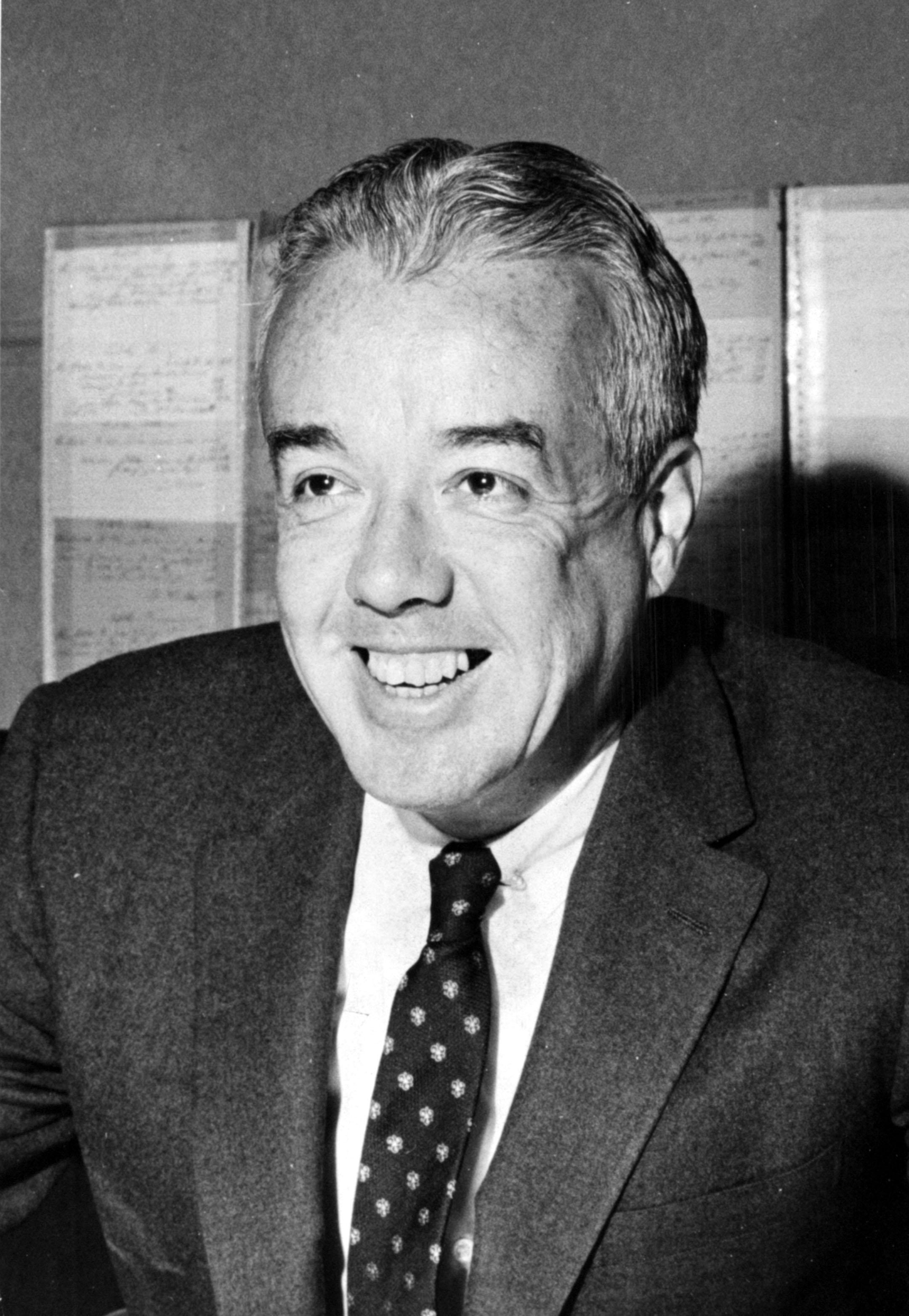 "Frank E. ""Jimmy"" Kilroe, full-time racing secretary at Santa Anita (Keeneland Library Thoroughbred Times Collection)"