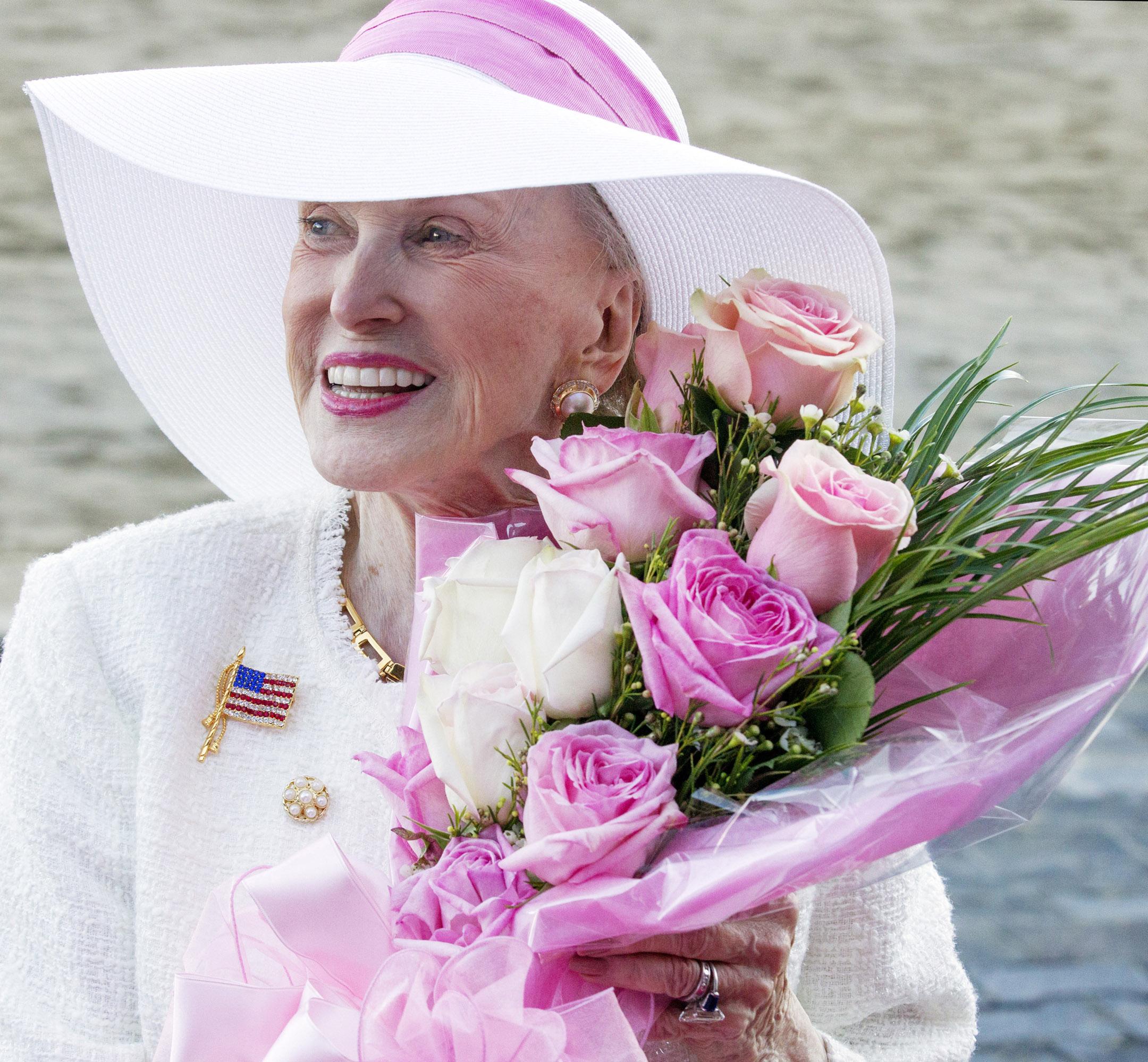 Marylou Whitney at Saratoga, August 2016 (Barbara D. Livingston)