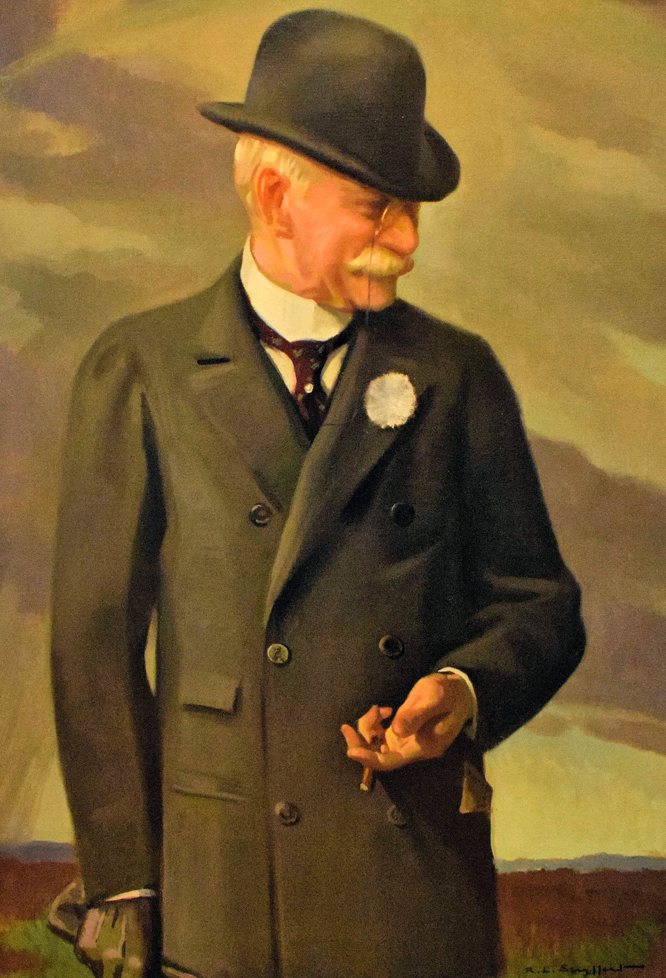 Portrait of William Collins Whitney by R. L. Seyffert (Museum Collection)