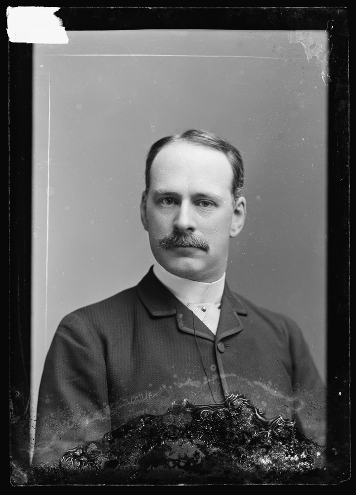 Photograph of Secretariat W. C. Whitney by C. M. Bell, 1873 (Library of Congress, Prints & Photographs Division, [LC-DIG-bellcm-00992])