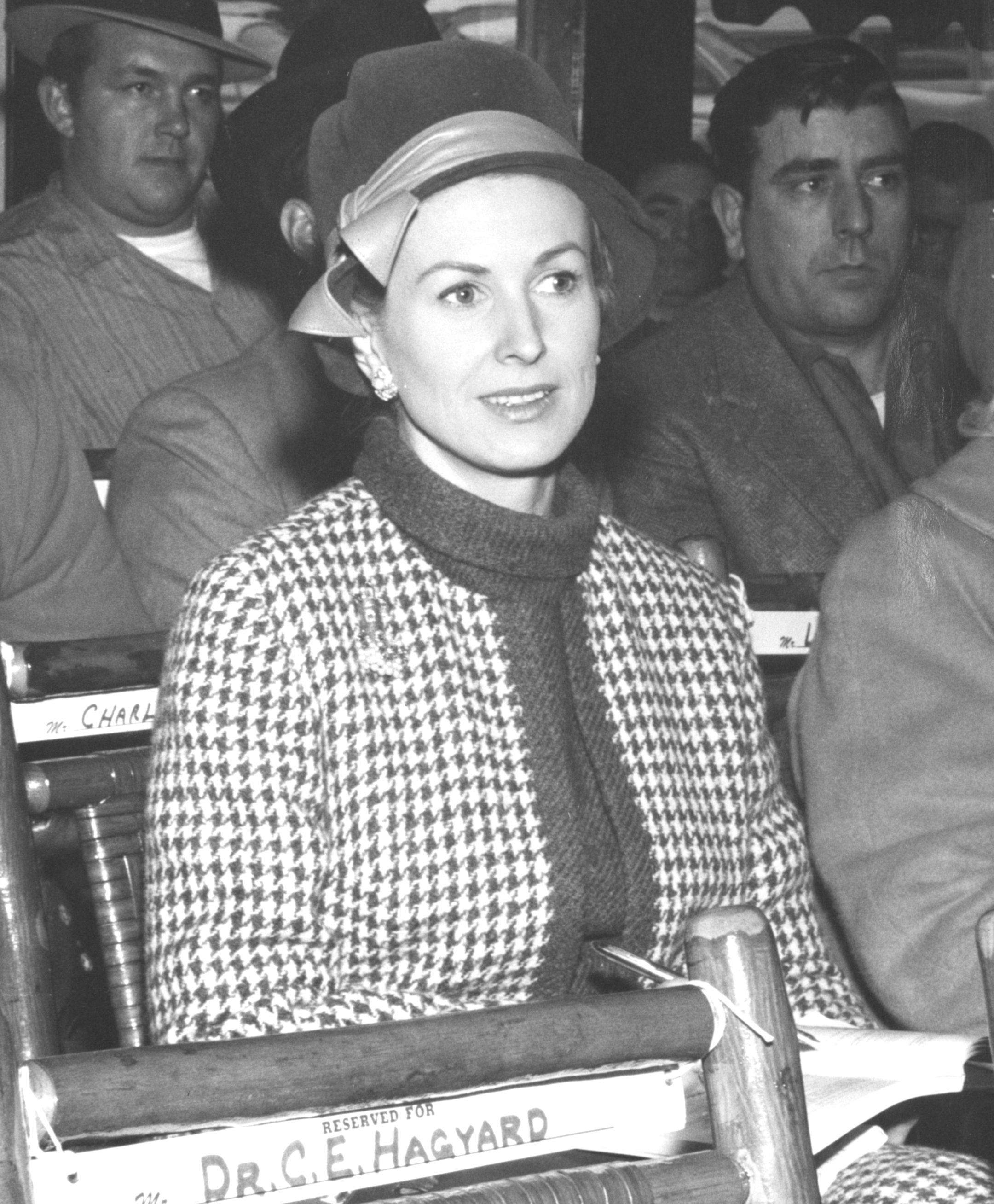 Marylou Whitney, 1962 (Keeneland Library Thoroughbred Times Collection)