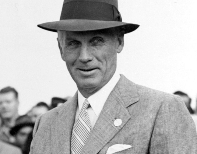 George D. Widener, Jr. (Keeneland Library Morgan Collection)