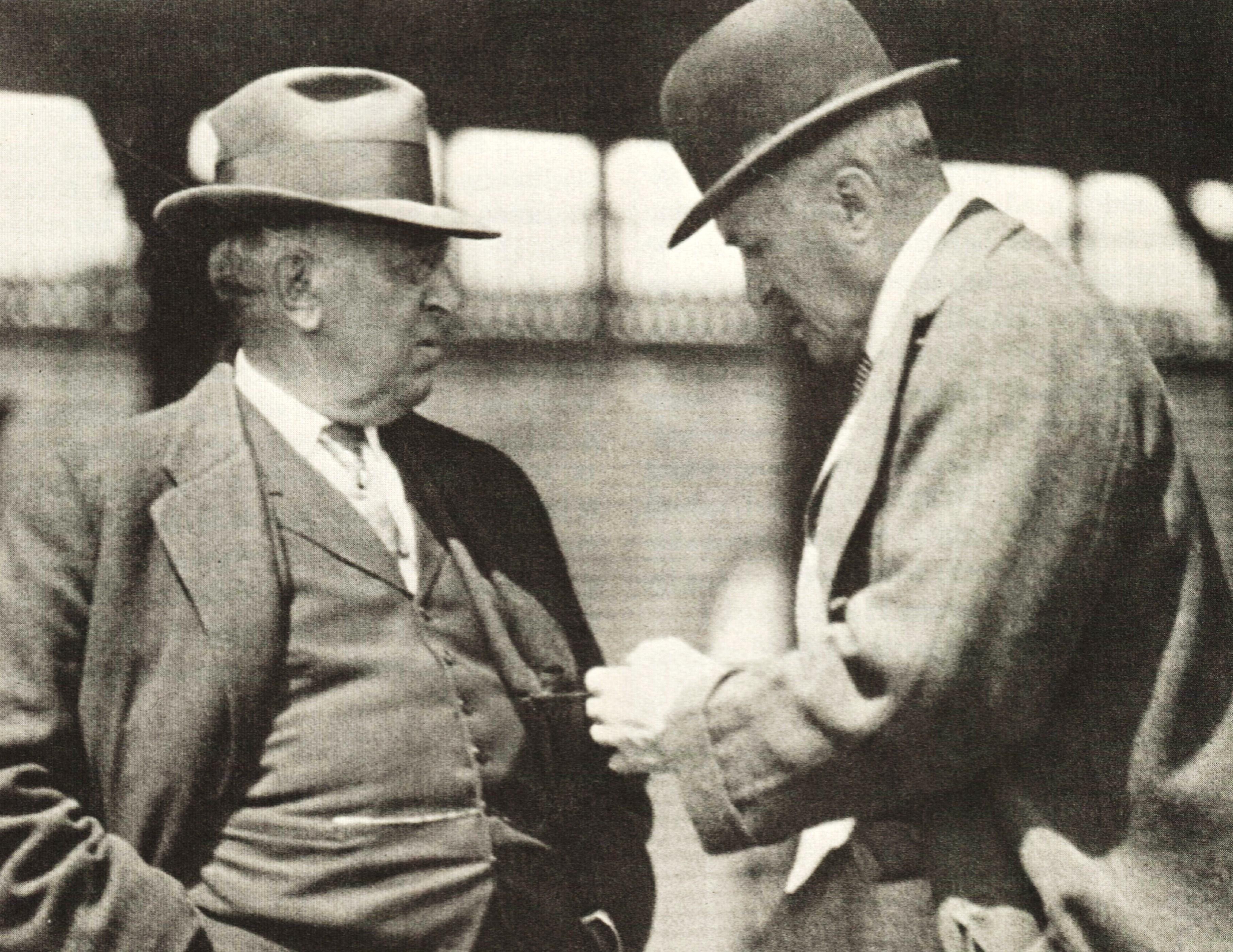 Andrew J. Joyner, left, and John E. Madden (Museum Collection)