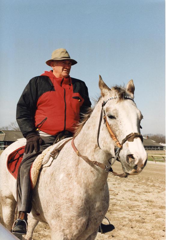 Allen Jerkens at Belmont Park (Barbara Ann Giove Coletta/Museum Collection)