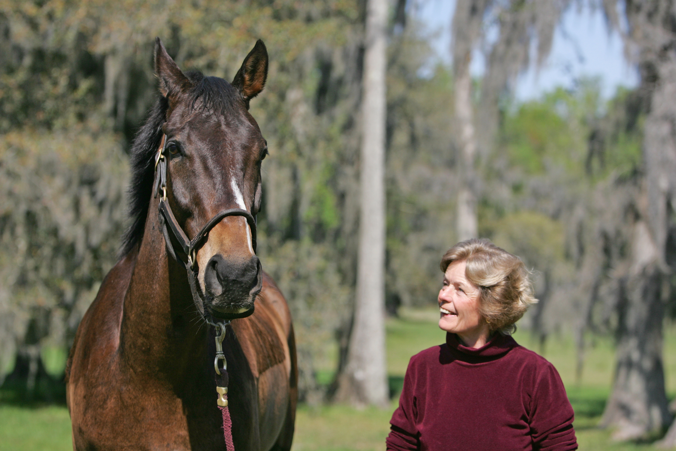 Janet Elliot and Flat Top (Tod Marks)